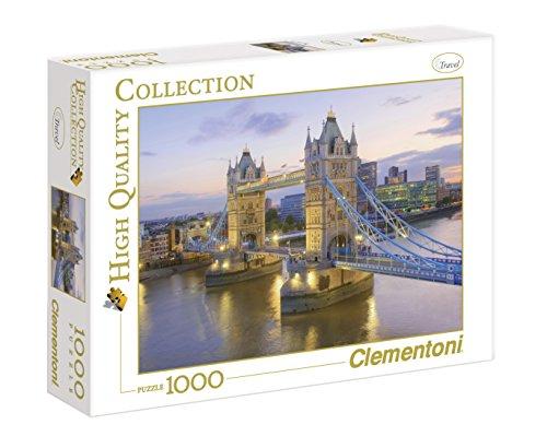 Clementoni 39022 - Tower Bridge, Collezione Alta Qualità, 1000 Pezzi