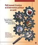 Petit manuel d'analyse et d'intervent...