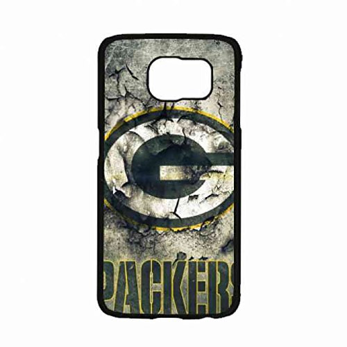 Green Bay Packers Team Crack Metal Pattern Samsung Galaxy S7 Case Black TPU Cover Protector-Nfl by fantas¨ªa