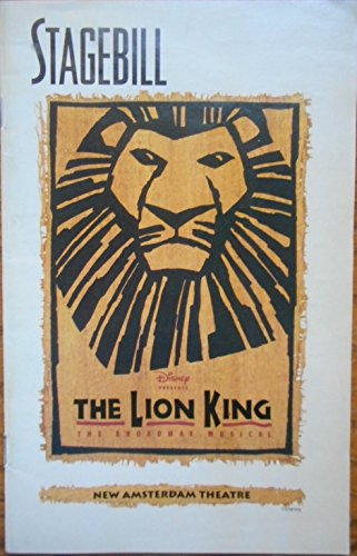 danny-rutigliano-signed-color-playbill-from-the-lion-king-at-the-new-amsterdam-theatre-starring-tom-