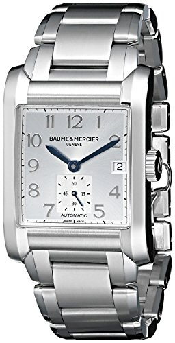 Baume-Mercier-Mens-A10047-Hampton-Square-Stainless-Steel-Bracelet-Watch
