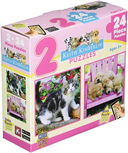 Masterpieces Fluffy Furballs Puzzle (2-Pack)