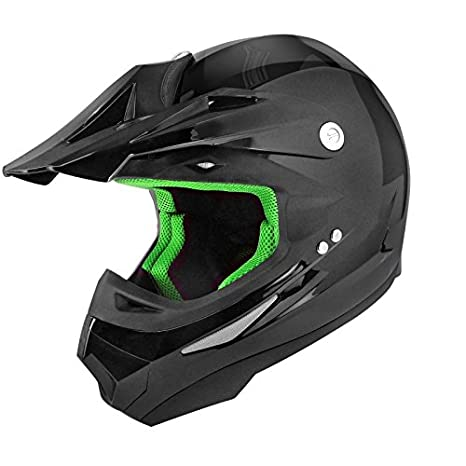 CASQUE CROSS TNT SC05 NOIR BRILLANT UNI XL