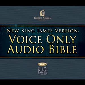 NKJV Voice Only Audio Bible | [ Thomas Nelson, Inc.]