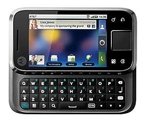 Motorola Flipside MB508 Black WiFi Android GSM QuadBand 3G Cell Phone