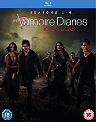 The Vampire Diaries - Season 1-6 [Blu-ray] [2015]