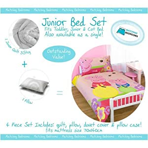 Ready Steady Bed Cot Bed Toddler Bedding Sets Includes ...