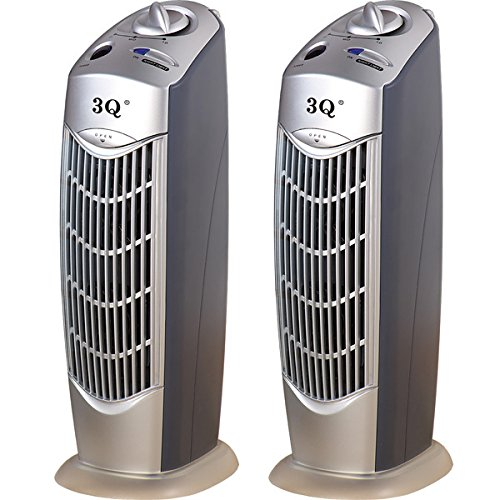 3Q AP08 Ionic Air Purifier with UV, Gather together of 2