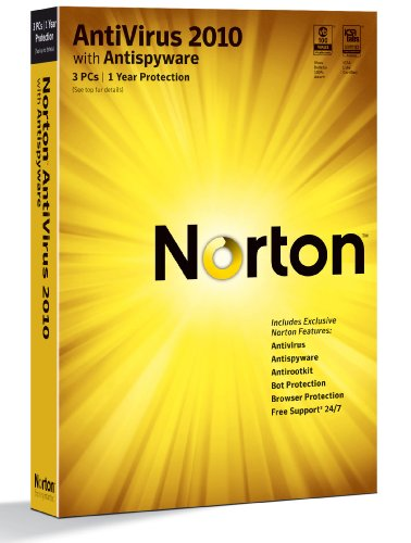 Norton Antivirus 2010 1-User/3PC [Old Version]