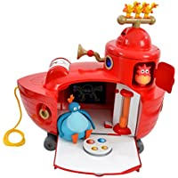 Twirlywoos 1730 Big Boat Playset (Red)