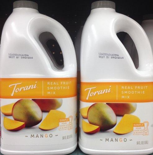 Torani Real Fruit Smoothie Mix Mango 64Oz (2 Pack) front-465583