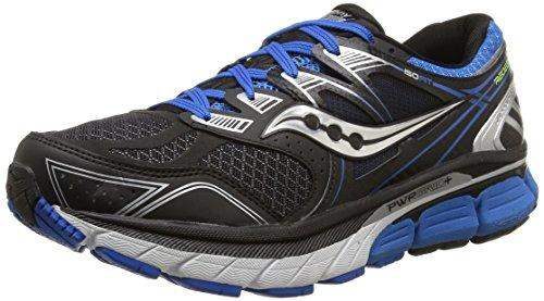 Saucony Redeemer, Scarpe sportive, Uomo, Multicolore (Black/Blue), 42