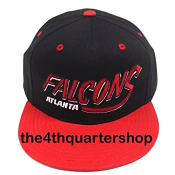 NEW Atlanta Falcons NFL Two Tone Vintage Snapback Flatbill Cap / Hat