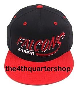 NEW Atlanta Falcons NFL Two Tone Vintage Snapback Flatbill Cap / Hat