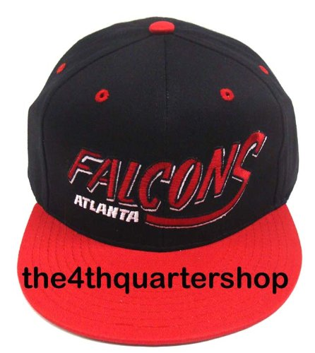 NEW Atlanta Falcons NFL Two Tone Vintage Snapback Flatbill Cap / Hat 0