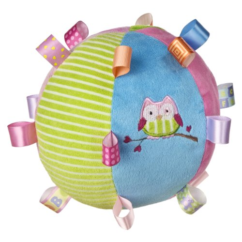 Taggies Oodles Owl Plush Chime Ball