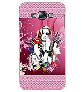 PrintDhaba Girls D-4574 Back Case Cover for SAMSUNG GALAXY A8 (Multi-Coloured)