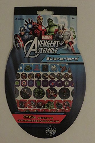 Marvel Avengers Assemble Sticker Land 295 + Stickers - 1