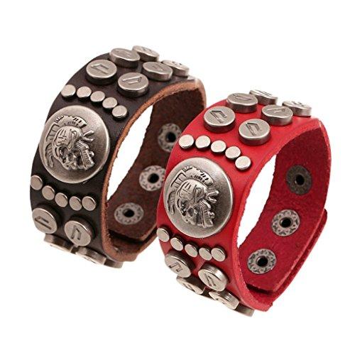 gnzoe-jewelry-men-womens-leather-bracelet-bead-bangle-cuff-dark-brown