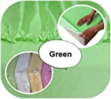 Baby Crib JERSEY Fitted Sheet 90x40cm 100 Cotton Green