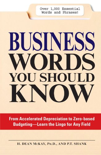 Business Words You Should Know: From accelerated Depreciation to Zero-based Budgeting - Learn the Lingo for Any Field (Big Words You Should Know compare prices)