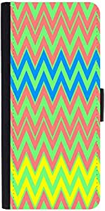 Snoogg Colourful Pattern 2573 Designer Protective Phone Flip Case Cover For Obi Worldphone Sf1