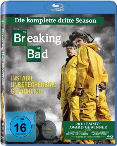 Breaking Bad - Die komplette dritte Season [Blu-ray]