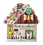 Lebensbaum Tee Adventskalender Köstlicher Advent, 2er Pack (2 x 45.5 g) - Bio