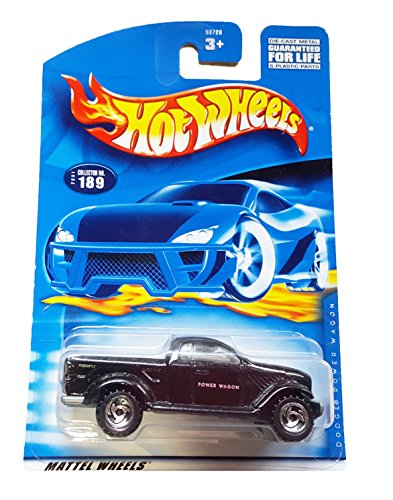 #2001-189 Dodge Power Wagon Collectible Collector Car Mattel Hot Wheels 1:64 Scale - 1