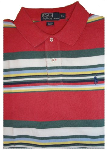 Men's Polo By Ralph Lauren Short Sleeve Polo Shirt Available in Several Sizes (Large)