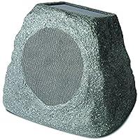 Ion Audio Solar Stone Wireless Rechargeable Garden Speakers (Single)