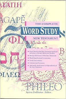 complete word study dictionary new testament