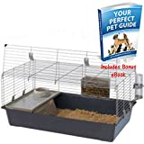 Rabbit And Guinea Pig Cage With An Opening Front - Accessories included - Great For Your Pet