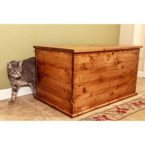 Cool Cat Tree Plans Discreet Litter Box Furniture Reviews
