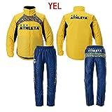 ATHLETA(アスレタ) 中綿ウォーマージャケット+パンツセット 04096+04097 (YEL(イエロー), M)
