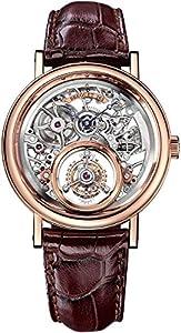 Breguet Classique Complications Men's Rose Gold Tourbillon Messidor Swiss Made Mechanical Watch 5335BR/42/9W6