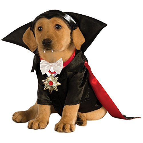 [Dracula Costume Pet Halloween Fancy Dress (XL)] (Business Suit Dog Costume)