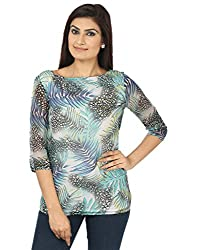 Coash MultiColor Printed Women Top