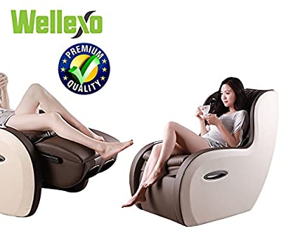 2 In 1 Shiatsu Roller PU Leather Full Body Massage Recliner Chair - Back - Lumbar - Feet With USB Charger - Bluetooth Function & Comfortable Sofa