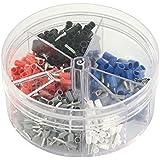 Blanko - Scatola di capicorda e puntali isolati , 0,5 - 2,5 mm²