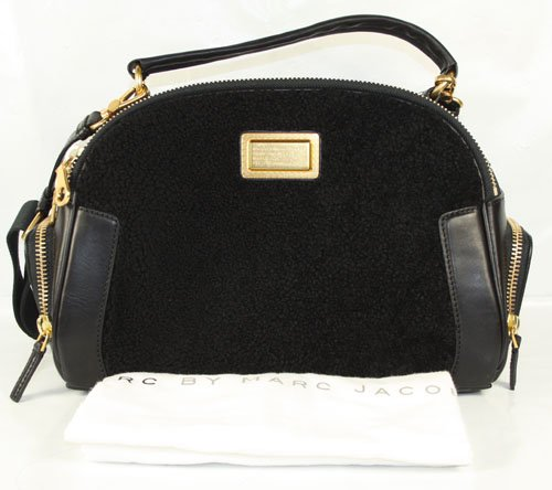 Marc By Marc Jacobs Marc Jacobs Goodbye Columbus Top Handle Bag in Black