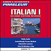 Italian I, Second Revised Edition: Lessons 1 to 5: Learn to Speak and Understand Italian | [Pimsleur]