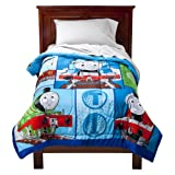 Thomas the Train Track Star Microfiber Comforter - Blue (Twin)