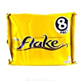Cadbury Flake Chocolate Bar 204 g (Pack of 8)