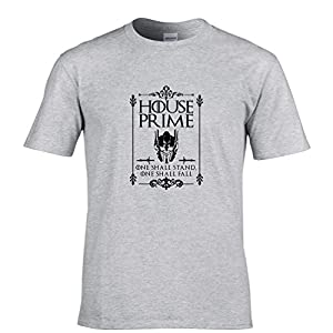 Game Of House Prime Tshirt Autobots Cybertron Transform Action Masters Mens Regular Fit Small - 5XLarge Multiple Colours