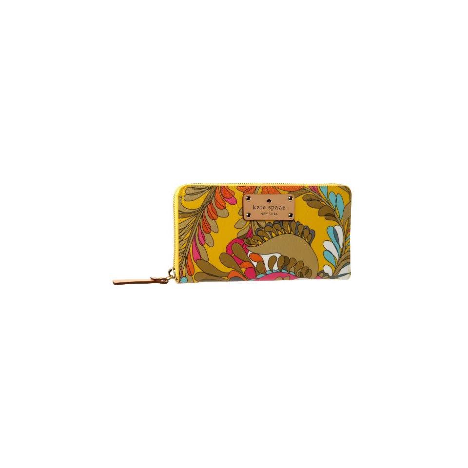 Kate Spade Paley Paisley Lacey Wallet   designer shoes, handbags