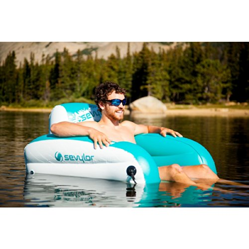 New Sevylor Inflatable Lake Water Lounge Chair Free