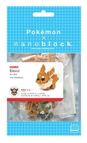 KAWADA Nanoblock 130 Piece 3D Puzzle Pokemon NBPM-05 EVE