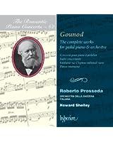 Gounod : Oeuvres pour piano à pédalier et orchestre