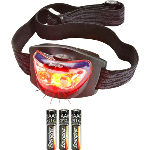 Led Head Lamp - With 3 Leds-T47765